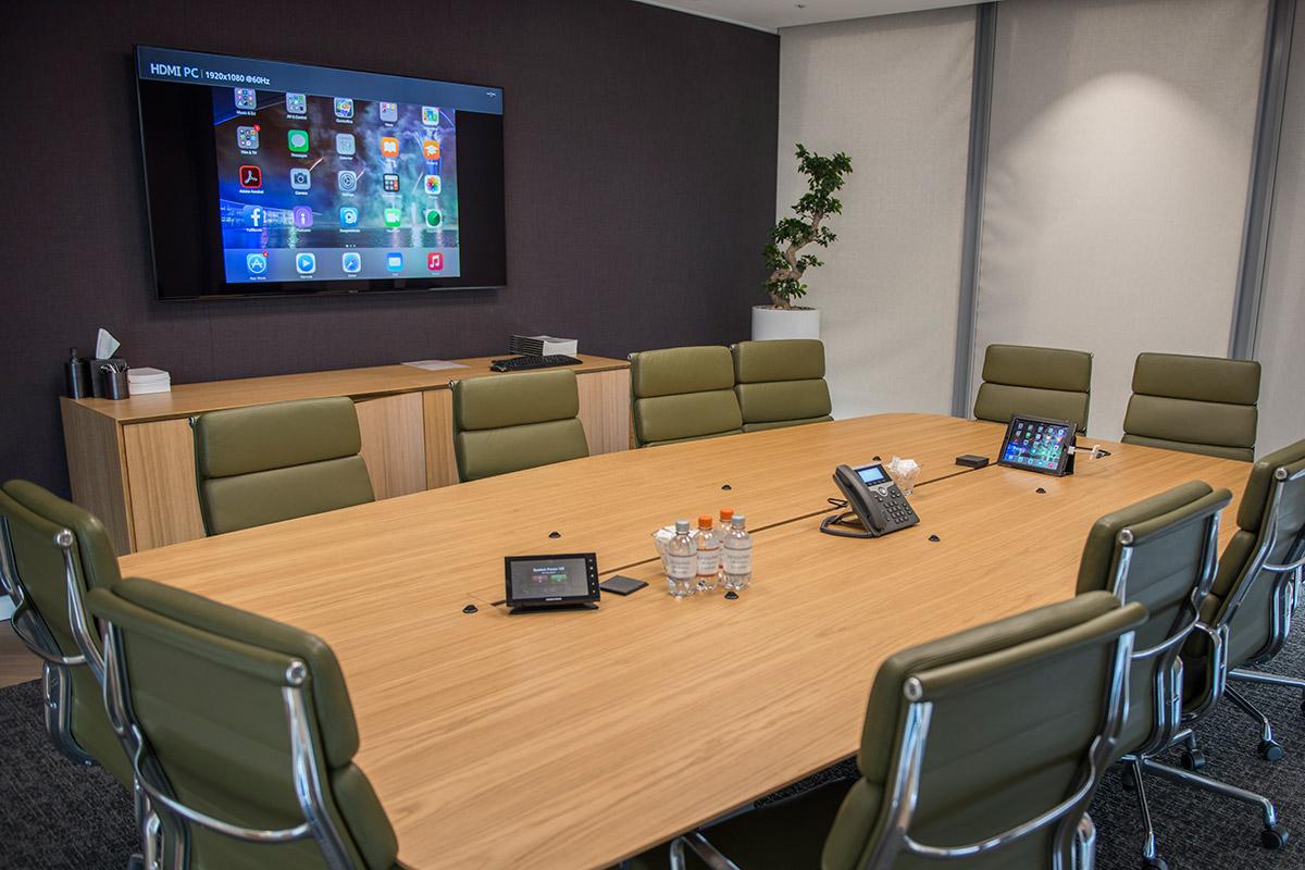 Conference Room Av Tv Installation Katy